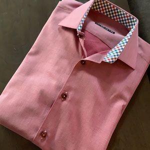 JARED LANG Button Down Shirt. Size Medium